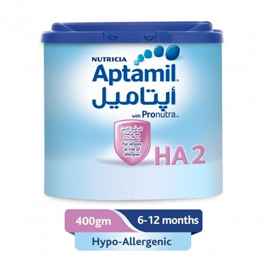 أپتاميل - حليب أطفال للحماية من الحساسية مرحلة 2 (6 - 12 شهر) 400 جم
