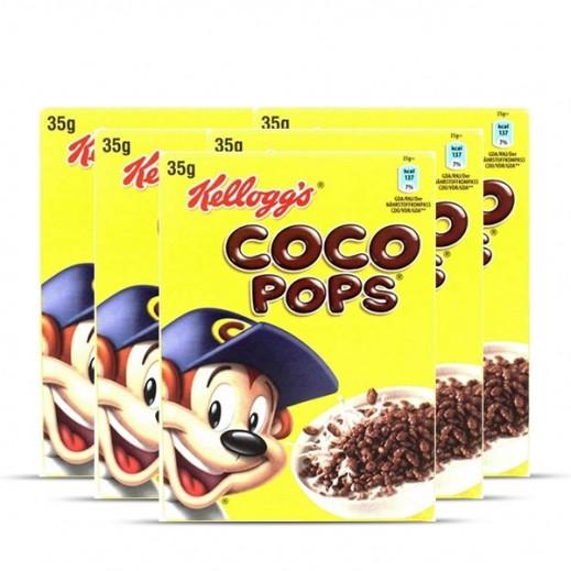 كلوقز – حبوب إفطار القمح المقرمشة بنكهة الشوكولاتة كوكوبوبس شوكوس  5 × 35 جم