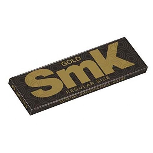 إس إم كي - ورق سجائر لف ذهبي صغير