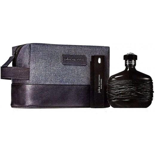 "جون فارفاتوس - طقم عطر ""جون فارفاتوس"" للرجال 125 مل EDT + عبوة 17 مل EDT+ عبوة 1.5 مل EDT + حقيبة ادوات تجميل"
