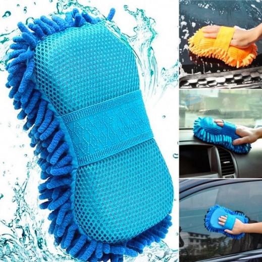 ممسحة تنظيف السيارة للتنظيف والتجفيف