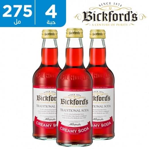 بيكفورد - مشروب صودا بالكريمة 4× 275 مل