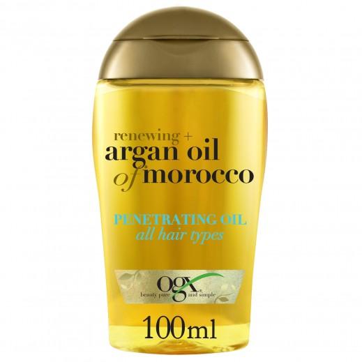 أو جي اكس - زيت الأرغان المغربي المتغلغل في جذور الشعر 100 مل