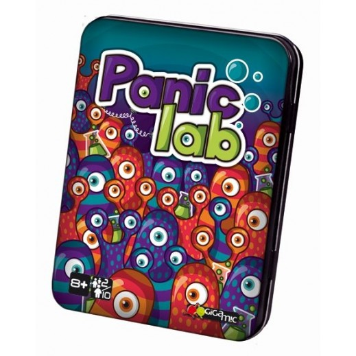 Panic Lab Card Game