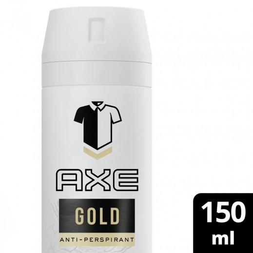 آكس - مزيل العرق جولد المضاد للجراثيم للرجال 150 مل