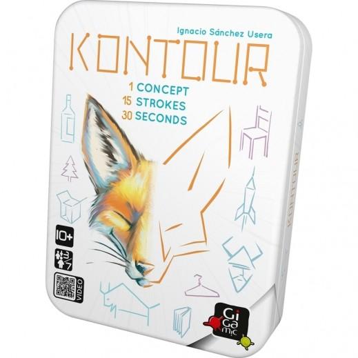 Kontour Card Game
