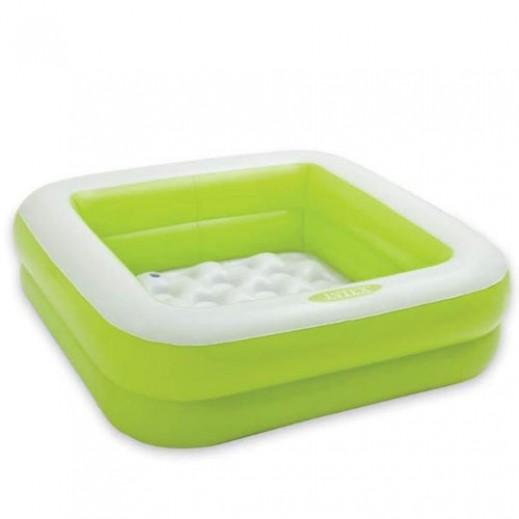 إنتكس – حمام سباحة للأطفال علي شكل صندوق 85 × 85 × 23 سم