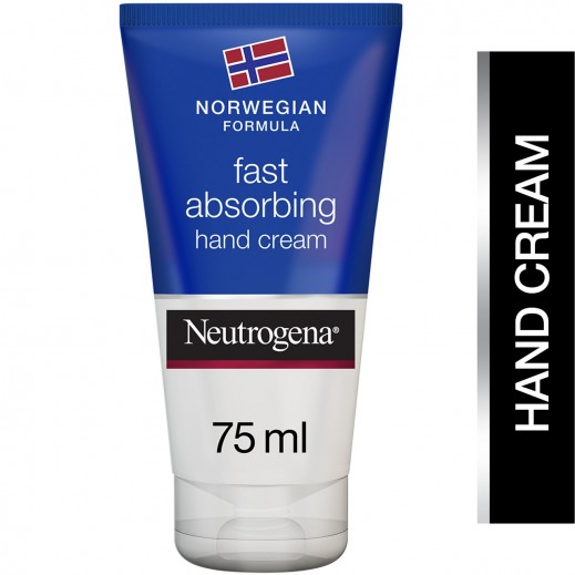 نيوتروجينا - كريم لليدين بالتركيبة النروجية سريع الامتصاص وقوام خفيف 75 مل
