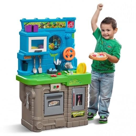 ستيب 2 – مطبخ سلاحف النينجا للأطفال – أزرق - يتم التوصيل بواسطة شهاليل خلال 2 أيام عمل