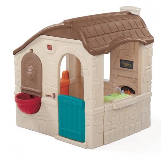 ستيب 2 – كوخ الألعاب الريفي للأطفال – بيج - يتم التوصيل بواسطة شهاليل خلال 2 أيام عمل