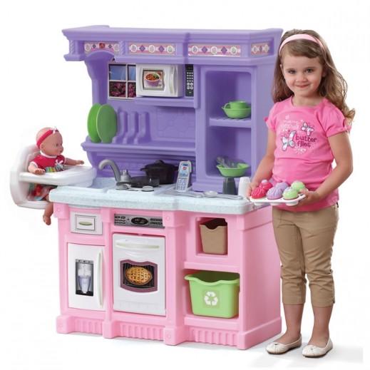 ستيب 2 – مطبخ الخباز الصغير – بنفسجي و وردي - يتم التوصيل بواسطة شهاليل خلال 2 أيام عمل