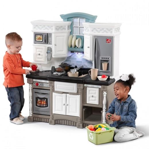 ستيب 2 – مطبخ الأحلام العصري – أبيض - يتم التوصيل بواسطة شهاليل خلال 2 أيام عمل