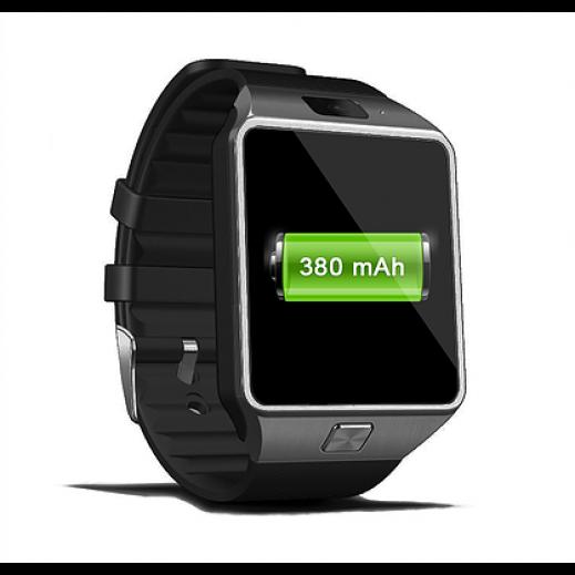 زنتالتي – ساعة ذكية شاشة IPS قياس 1.52 إنش 2G – أسود