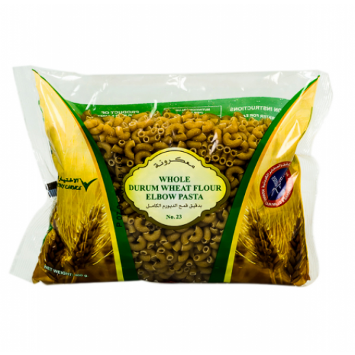 KFM Whole Durum Wheat Flour Elbow Pasta (No 23) 400 g