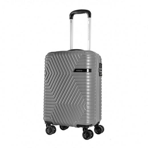 أميريكان تورستر – حقيبة سفر (إيلين) 55 سم - رمادي