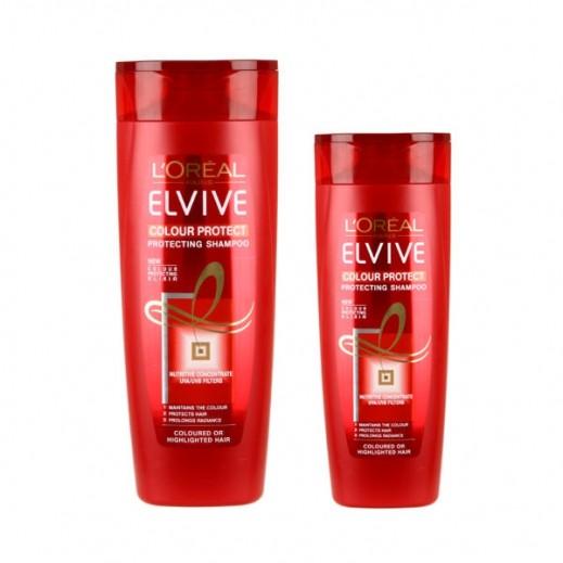 لوريال إلڤيڤ – شامبو لحماية لون الشعر 400 مل + 200 مل