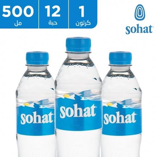 صحة - مياه معدنية طبيعية 12 × 500 مل