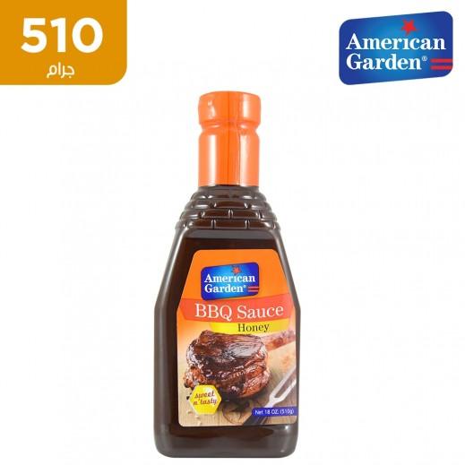 اشتري أميريكان جاردن صلصة الباربكيو بالعسل 510 جرام توصيل Taw9eel Com