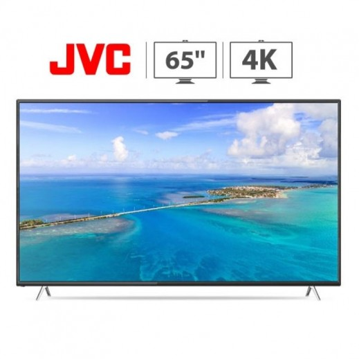 JVC - تلفزيون ذكى 65 بوصة 4K UHD LED - يتم التوصيل بواسطة Smart Stores