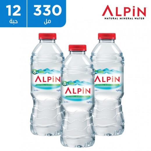 ألبين مياه معدنية طبيعية 12 × 330 مل
