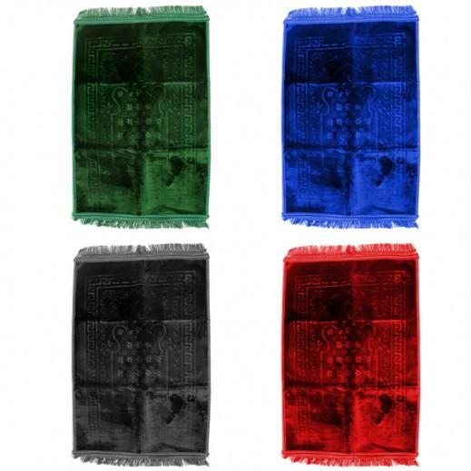 سجادة الصلاة مزخرفة بألوان متعددة (80 ×120 سم)