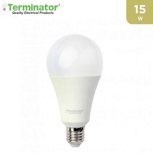 ترمونيتر – مصباح إضاءة LED E27 بقوة 15 واط – ابيض - 1 حبة