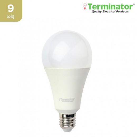 ترمونيتر – مصباح إضاءة LED E27 بقوة 9 واط – اصفر - 1 حبة