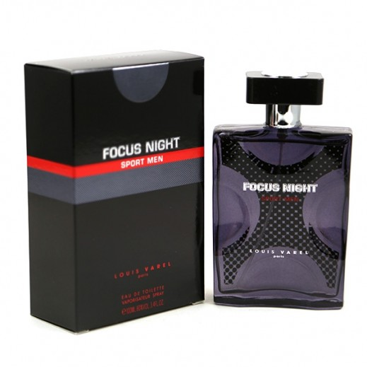"لويس فاريل - عطر ""Focus Night Sport"" للرجال 100 مل - EDT"