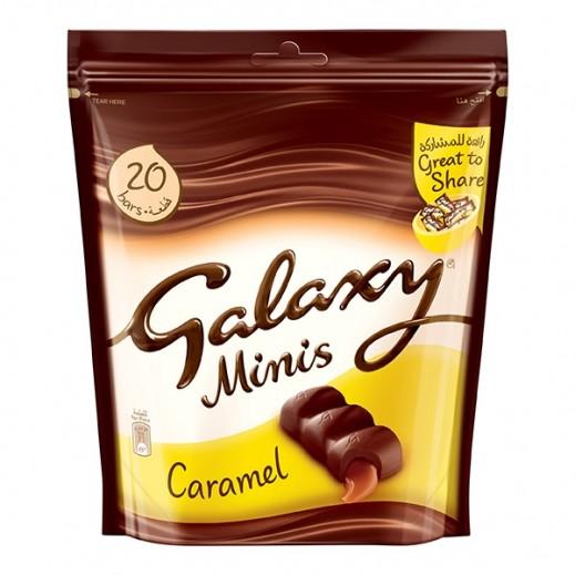 جالاكسي - شوكولاتة مينيز بالكراميل 280 جرام