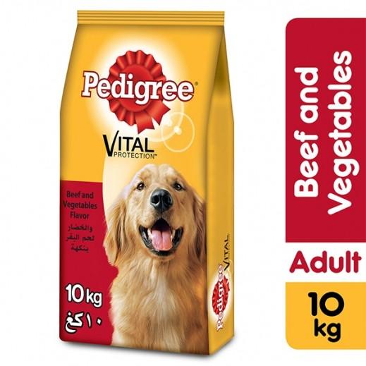 بيدجري – طعام الكلاب بنكهة لحم البقر والخضروات 10 كجم