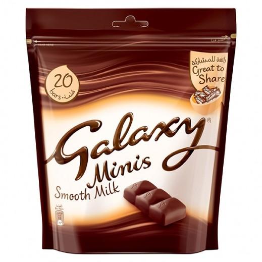 جالاكسي - شوكولاتة مينيز بالحليب 250 جرام