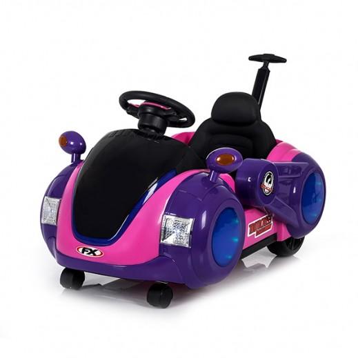 سينام - سيارة للأطفال (وردى) - يتم التوصيل بواسطة كليك تويز خلال 3 أيام عمل