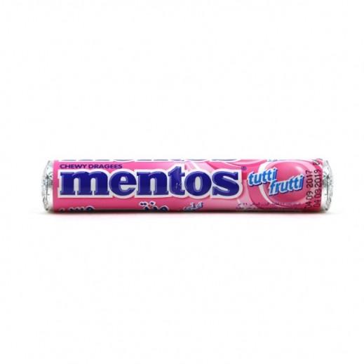 مينتوس – حلوى مضغية بنكهة التوتي فروتي 30 جم