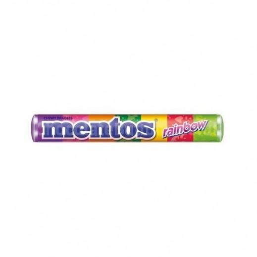 مينتوس – حلوى مضغية رينبو بنكهة الفاكهة 30 جم