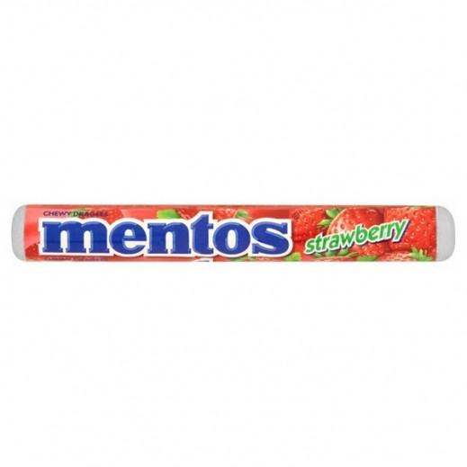 مينتوس – حلوى مضغية بنكهة الفراولة 30 جم