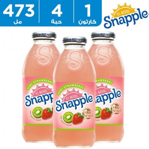 Snapple Kiwi Strawberry juice 4 x 473 ml