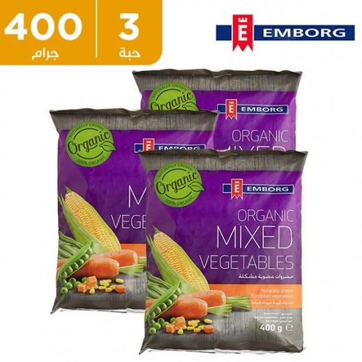 إيمبورج – خضروات منوعة عضوية 3×400 جم - عرض التوفير