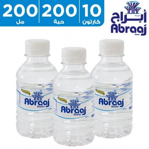 أبراج – مياه شرب نقية 200 مل (10 × 20)