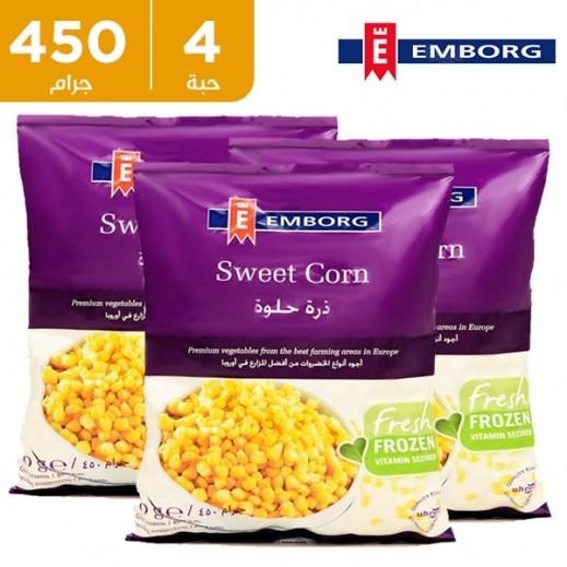 إيمبورج – ذرة حلوة مجمدة 450 جم (4 حبة) - عرض التوفير