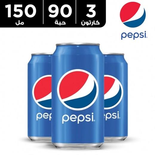 بيبسي – مشروب غازي 150 مل (3 × 30 حبة)