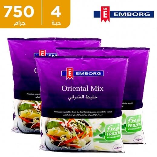 إيمبورج – خضروات مشكلة شرقية مجمدة 750 جم (4 حبة) - عرض التوفير