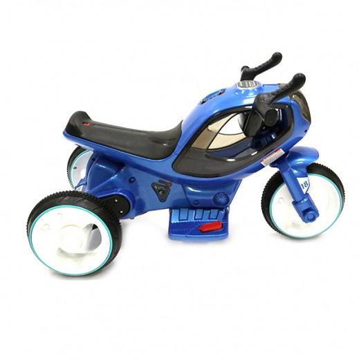 سيارة الكترونية للأطفال - أزرق - يتم التوصيل بواسطة كليك تويز خلال 2 أيام عمل