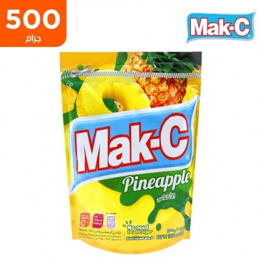 ماك سي – مشروب سريع التحضير بنكهة الأناناس كيس 500 جم
