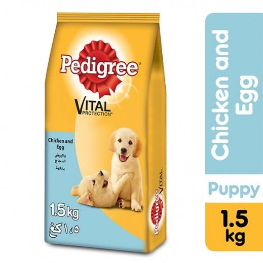 بيدجري – طعام الكلاب الصغيرة الجاف مع الدجاج والبيض 1.5 كجم
