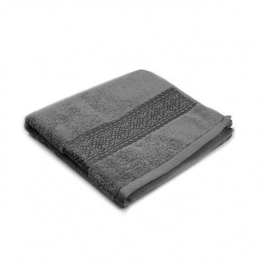 فيلدكرست - منشفة مطرزة صغيرة - لون رمادي 50×100 سم