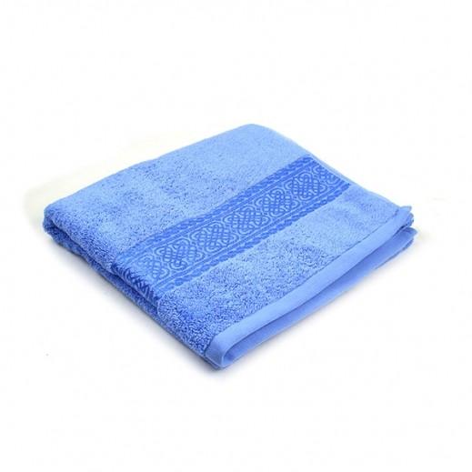 فيلدكرست - منشفة مطرزة صغيرة - لون أزرق 50×100 سم