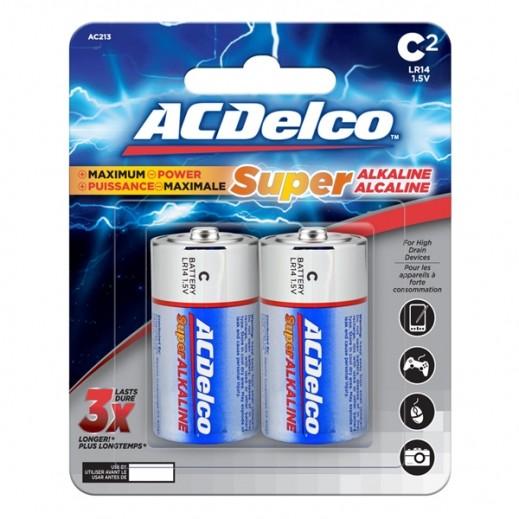 أي سي ديلكو – بطارية ألكالين C قوة 1.5 فولت عبوة 2 حبة