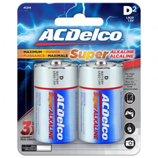 أي سي ديلكو – بطارية ألكالين D قوة 1.5 فولت عبوة 2 حبة