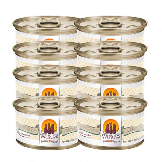 ويروفا – طعام (باو ليكين) القطط بالدجاج في المرق - 24 × 85 جم - أسعار الجملة