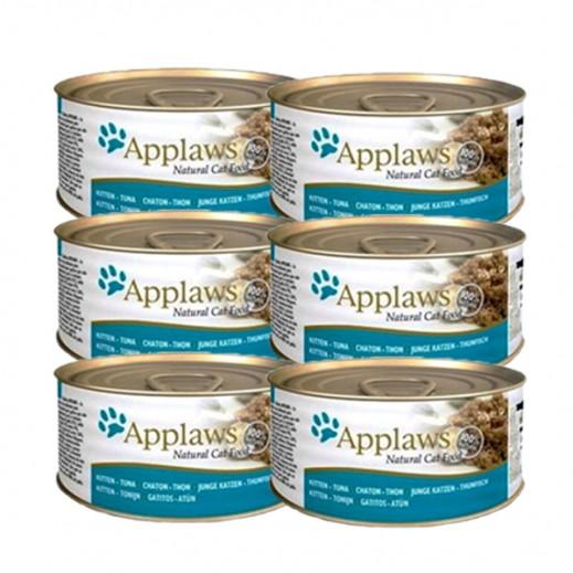 Applaws Natural Cat Food Kitten Tuna 6 x 70 g